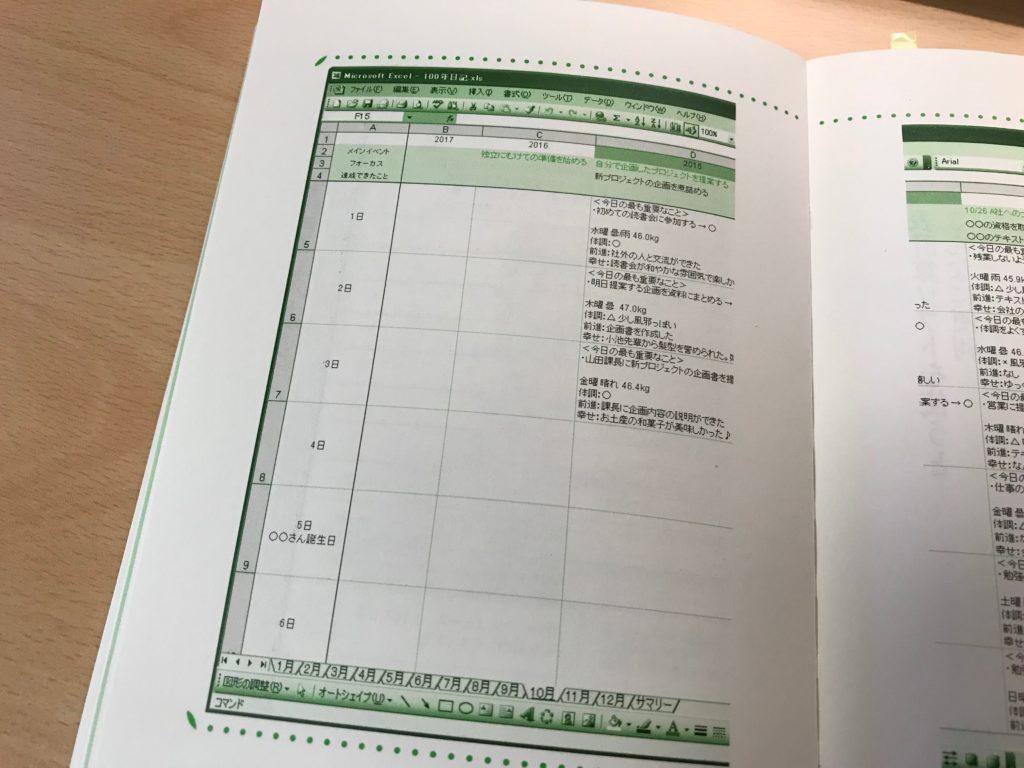 100年日記