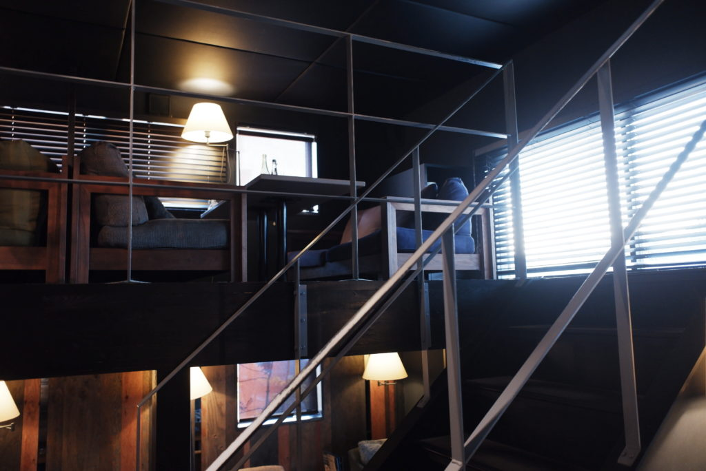 2階席を見る
