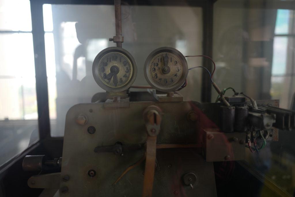 旧時計台 駆動部