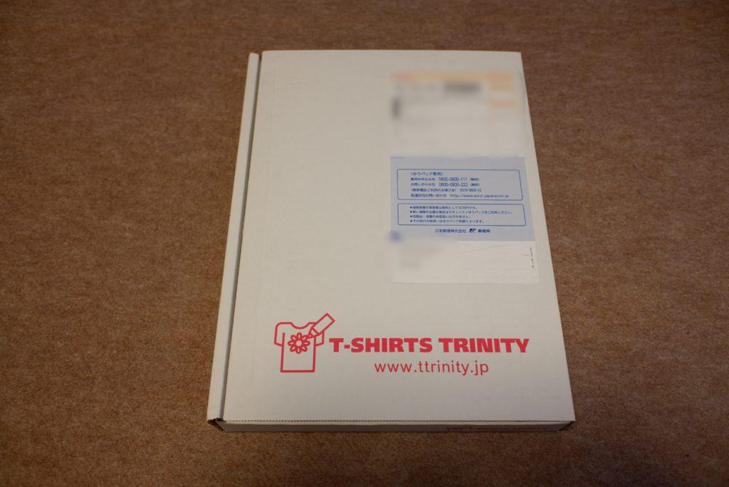 Tシャツ梱包箱