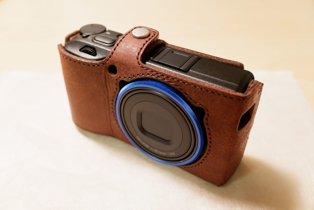 RICOH GR3 with ULYSSES CASE