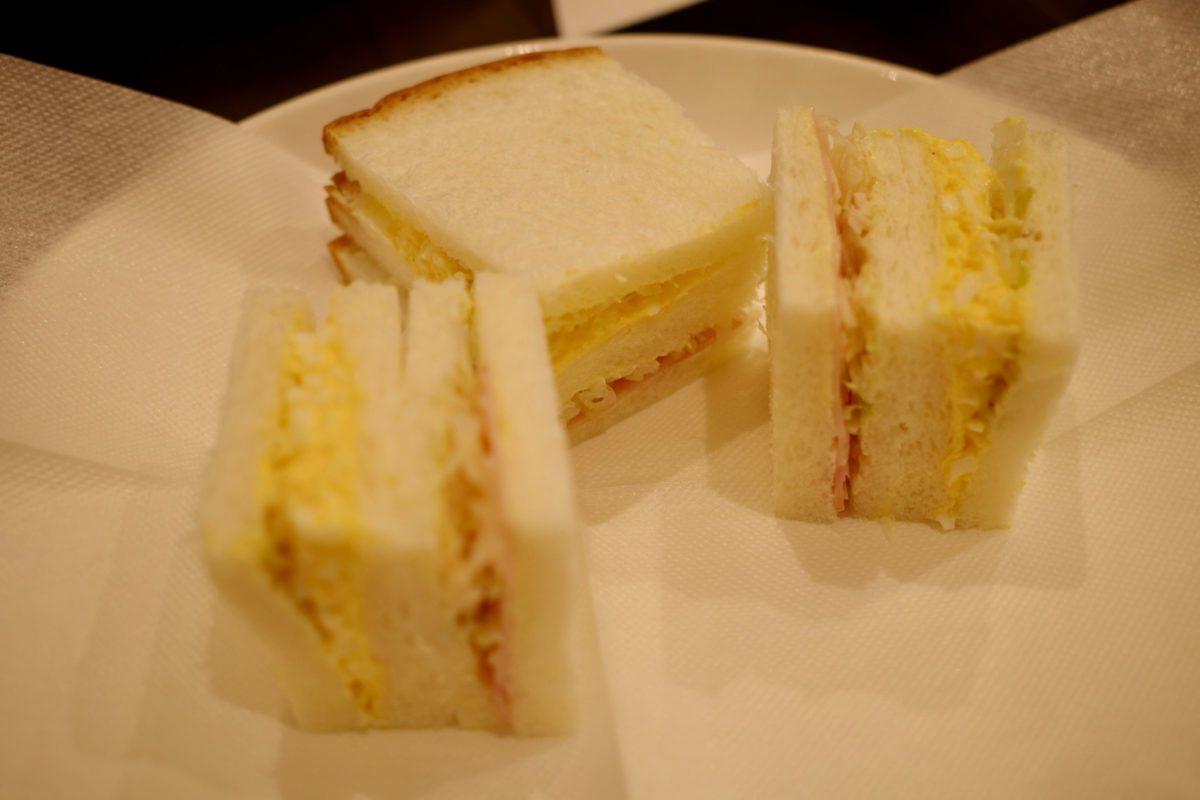 珈琲館コフィア モーニングサンドイッチ