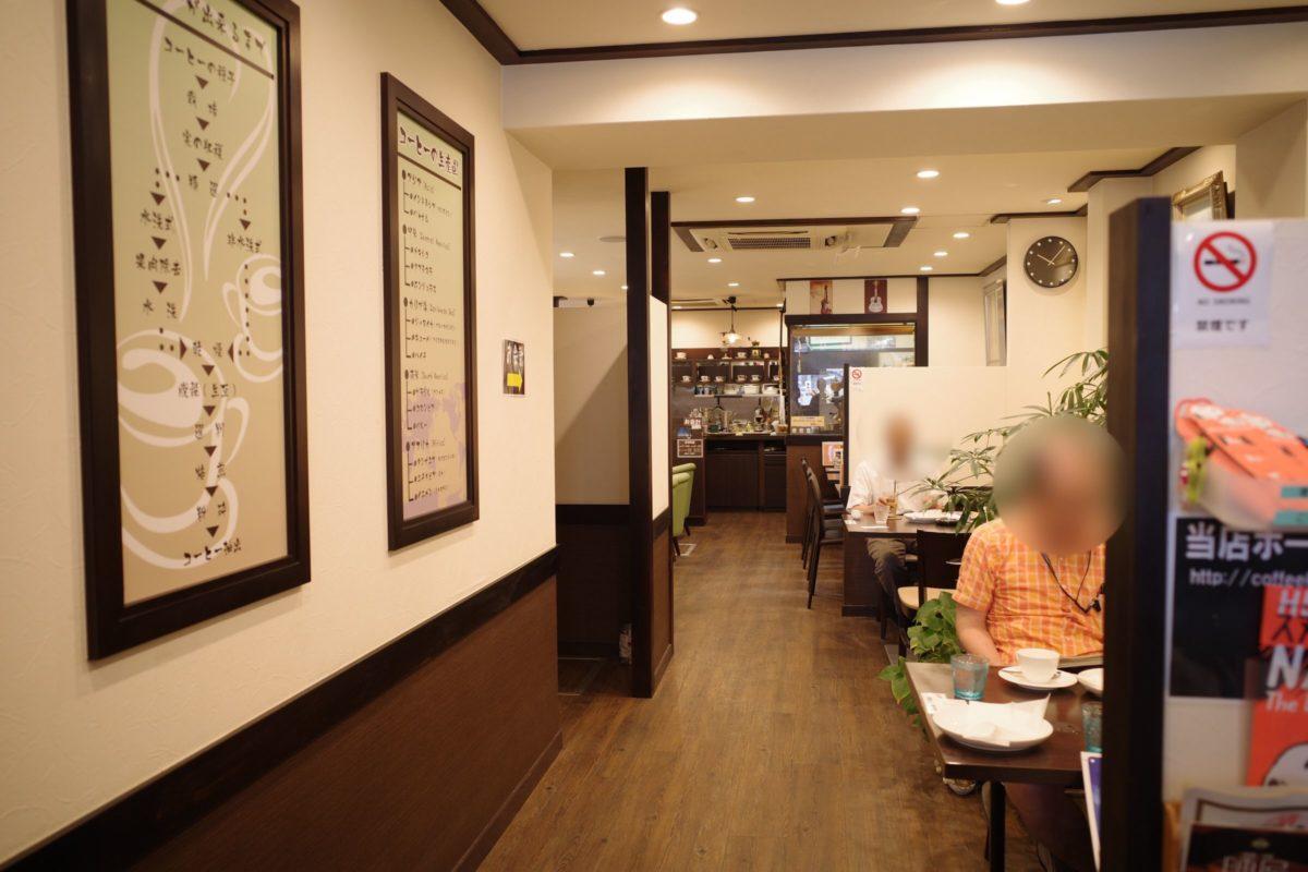 珈琲館コフィア 店内